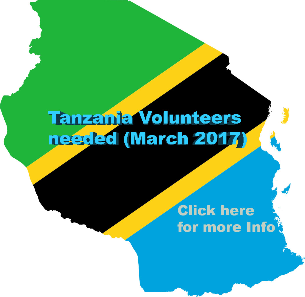 Childaid are  looking for people with a good sense of adventure to volunteer in East Africa next March 2017.